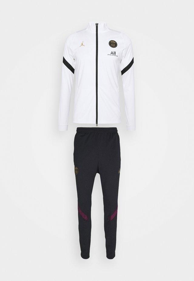 PARIS ST GERMAIN DRY SUIT SET - Club wear - white/black