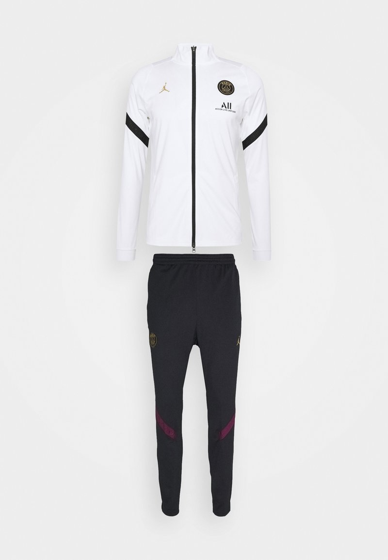 Nike Performance - PARIS ST GERMAIN DRY SUIT SET - Equipación de clubes - white/black