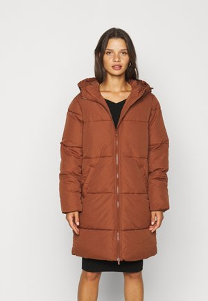 VITRUST  LONG JACKET - Vinterkåpe / -frakk - tortoise shell