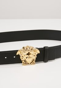 Versace - BELT VITELLO PECCARY - Ceinture - nero/oro - 2