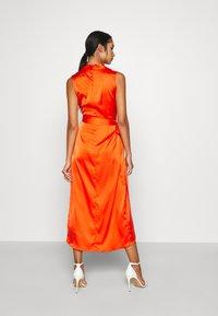 Never Fully Dressed - TANGERINE SLEEVELESS WRAP DRESS - Cocktail dress / Party dress - tangerine - 2