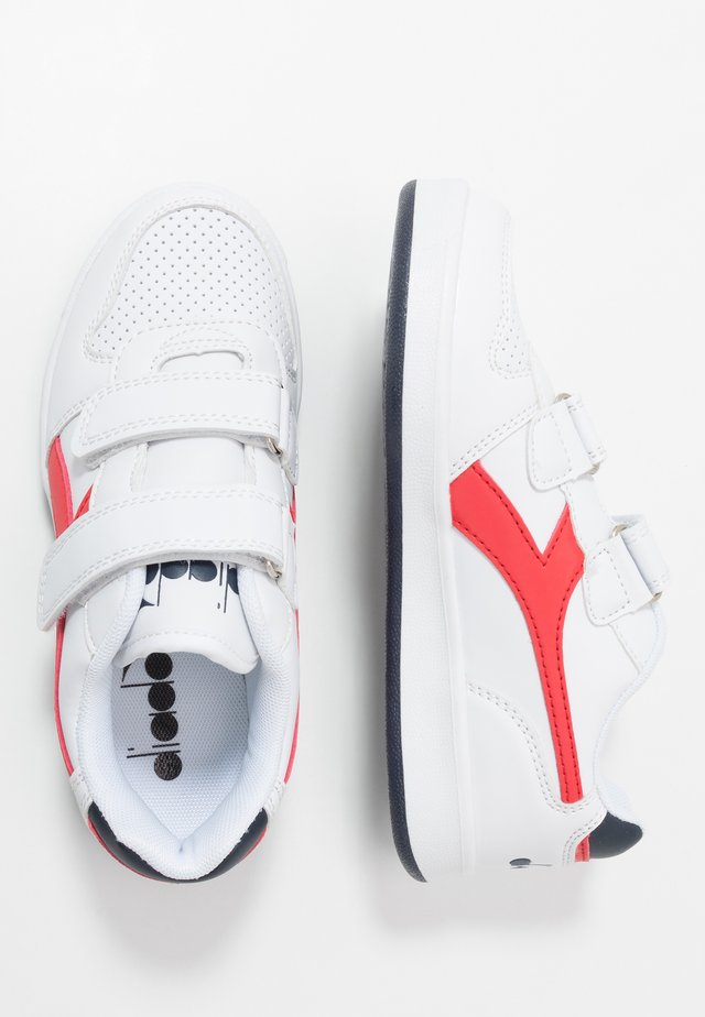 PLAYGROUND - Sports shoes - white/red