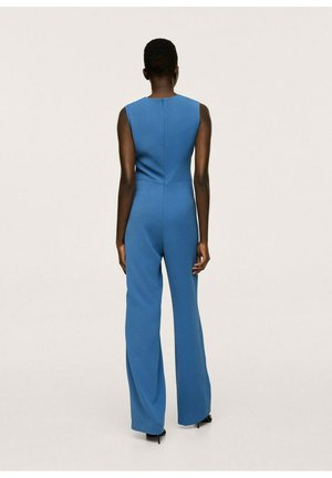 LUNGA LACCIO - Jumpsuit - bleu
