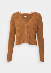 FIRST LAYER - Cardigan - brown