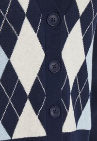 Monki - LAILA - Cardigan - navy/blue/offwhite - 2