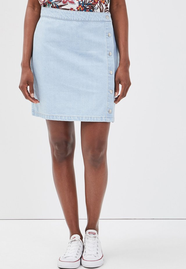 A-lijn rok - denim bleach