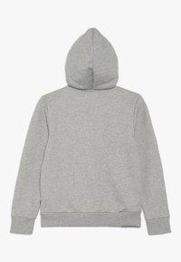 Levi's® - WAISTCOAT - veste en sweat zippée - gris chine - 1