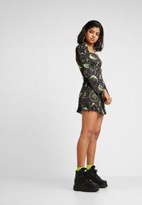 NEW girl ORDER - MOON MILK MAID DRESS - Denní šaty - black - 1