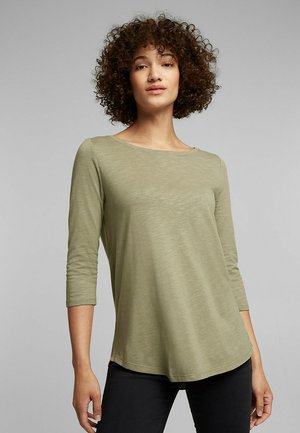 Long sleeved top - light khaki