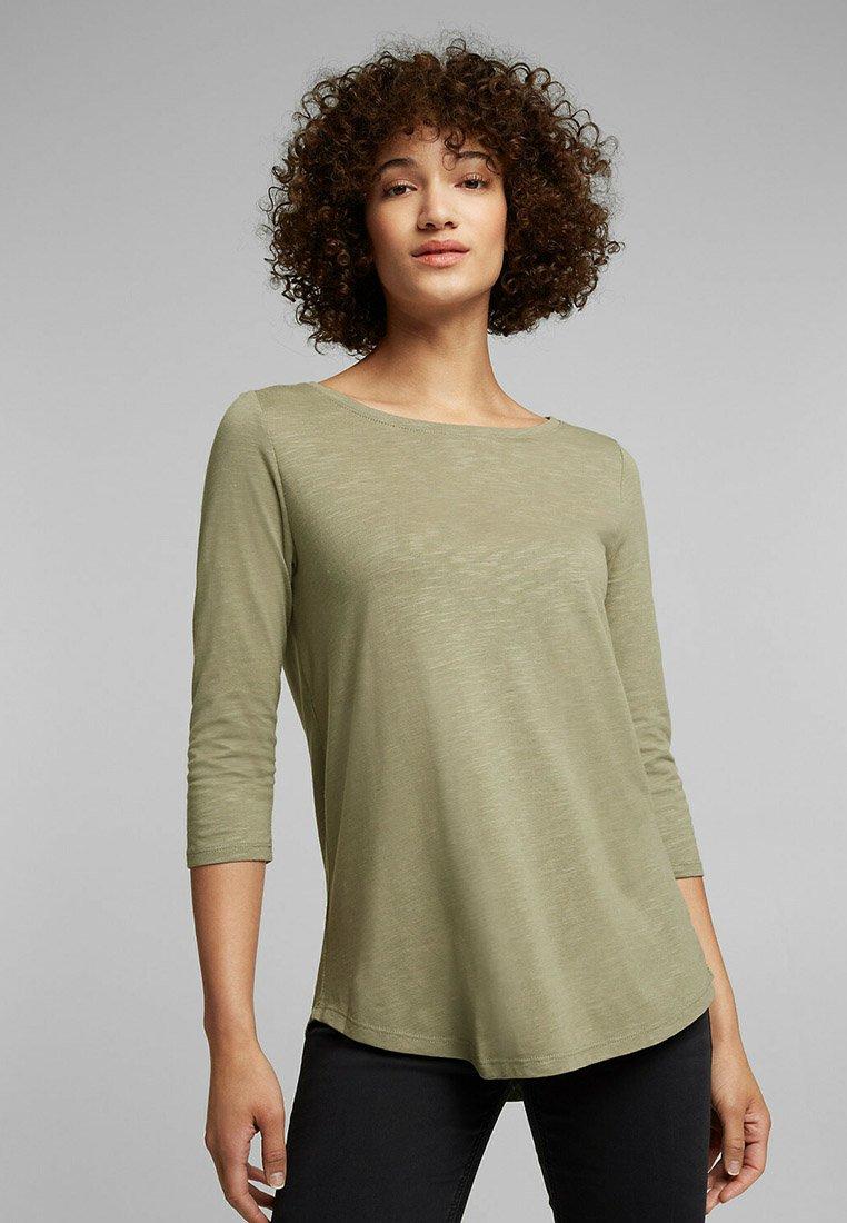Esprit - Long sleeved top - light khaki