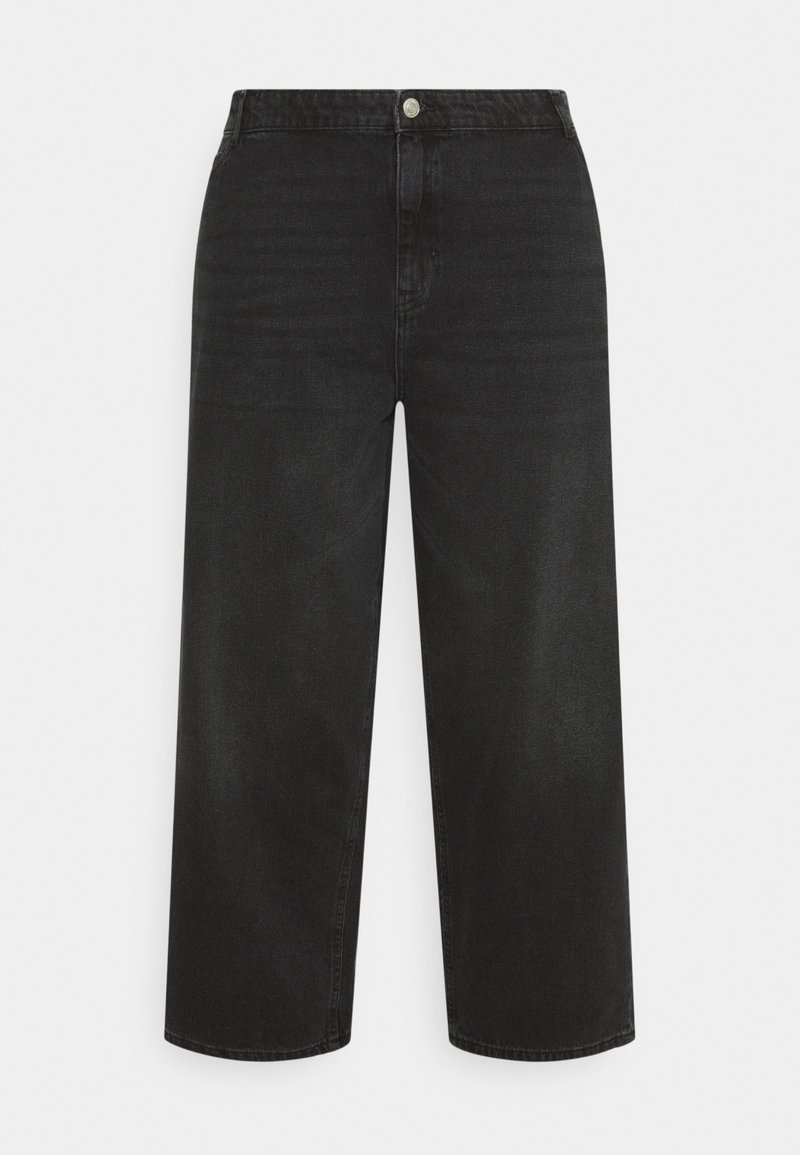 Noisy May Curve - NMBROOKE  - Relaxed fit jeans - black