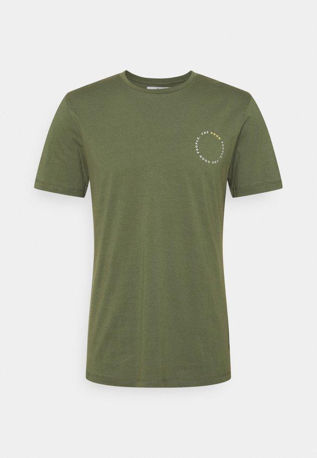 TEX - T-shirt basic - army green