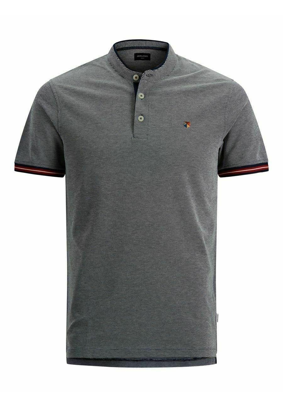 Herren MANDARINKRAGEN - T-Shirt print