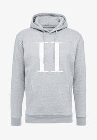 ENCORE HOODIE - Bluza z kapturem - mottled grey