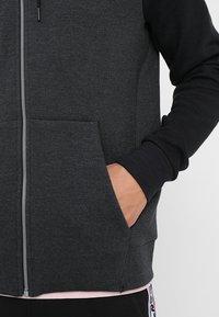 Nike Sportswear - OPTIC HOODIE - Zip-up hoodie - black - 3