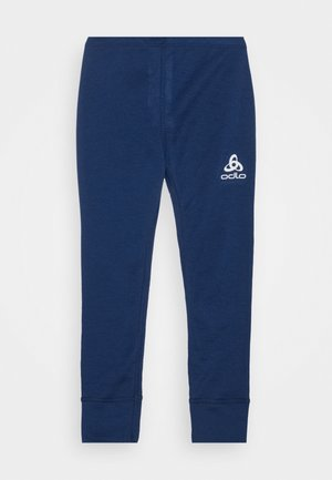 BOTTOM LONG ACTIVE WARM ECO KIDS UNISEX - Onderbroek - estate blue