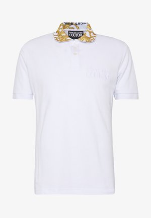 BAROQUE COLLAR POLO - Polo shirt - white