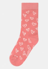 Ewers - HEARTS 3 PACK - Calcetines - rosa/black - 1
