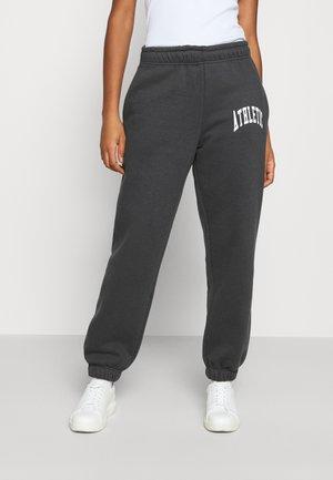 SOFT SPORT CORINNA PANTS - Spodnie treningowe - super dark grey