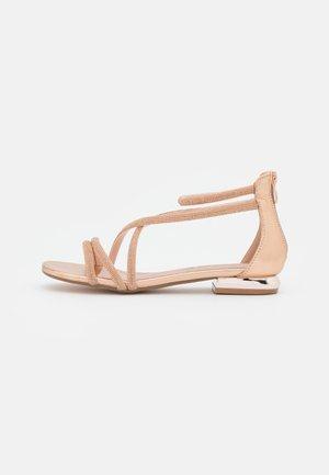 AGATA  - Sandals - rosegold
