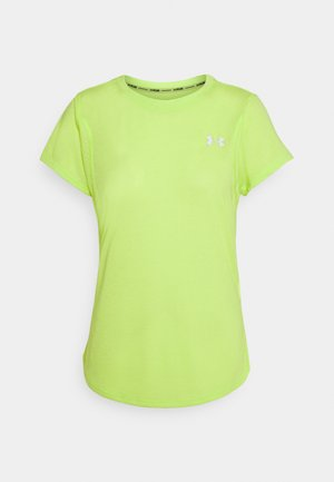 STREAKER SHORT SLEEVE - T-Shirt basic - green citrine