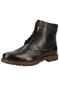 Fretz Men - Lace-up ankle boots - black - 2
