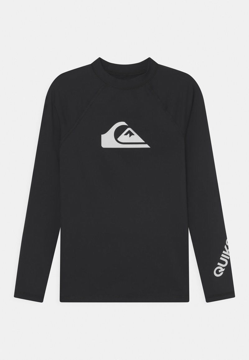Quiksilver - ALL TIME YOUTH - Rash vest - black