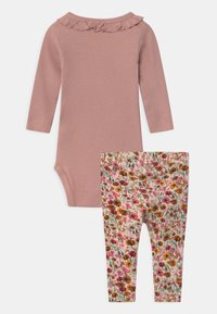 Name it - NBFNYLVA/NBFNANA SET - Leggings - Trousers - adobe rose/withered rose - 1