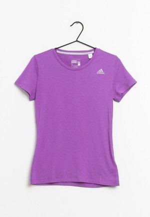 Camiseta estampada - purple
