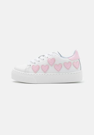 Zapatillas - bianco/rosa