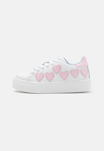 Trainers - bianco/rosa