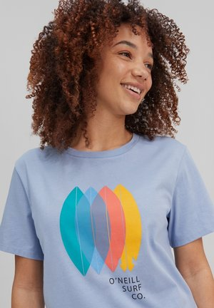 SURFBOARD - Print T-shirt - forever blue