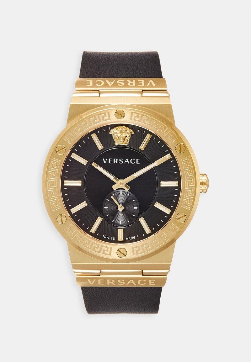 Versace Watches - GRECA LOGO - Zegarek - black