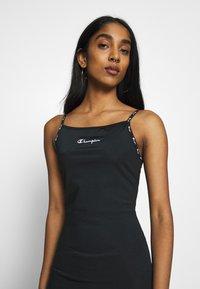 Champion Reverse Weave - DRESS - Denní šaty - black - 3