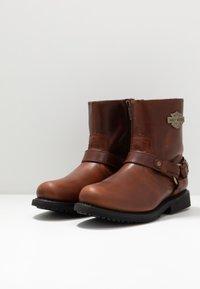Harley Davidson - SCOUT - Cowboy/biker ankle boot - rust - 2
