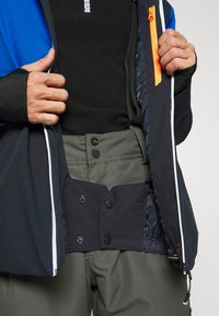 Brunotti - STROKERS MENS SNOWJACKET - Snowboard jacket - space blue - 4