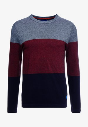 JORFLASH CREW NECK - Strikpullover /Striktrøjer - forget me not