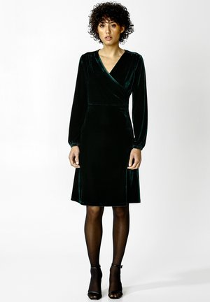 OLIVETTA - Cocktail dress / Party dress - dkgreen