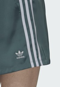 adidas Originals - SATIN SHORTS ADICOLOR ORIGINALS LOOSE - Shorts - hazy emerald - 4
