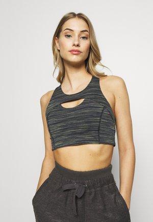 STRUT BRA - Sports bra - black