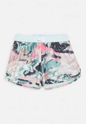 PLAY UP PRINTED SHORTS - Pantalón corto de deporte - seaglass blue