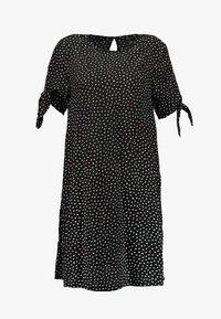 Monki - SELMA DRESS - Denní šaty - black - 6
