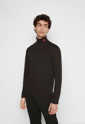 DEROLLO - Long sleeved top - black