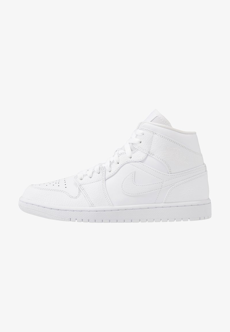 Jordan - AIR 1 MID - Korkeavartiset tennarit - white