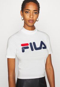 Fila Tall - EVERY TURTLE TEE - T-shirt print - bright white - 3