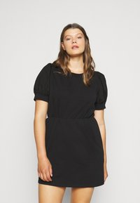 Pieces Curve - PCMERVE DRESS - Day dress - black - 0