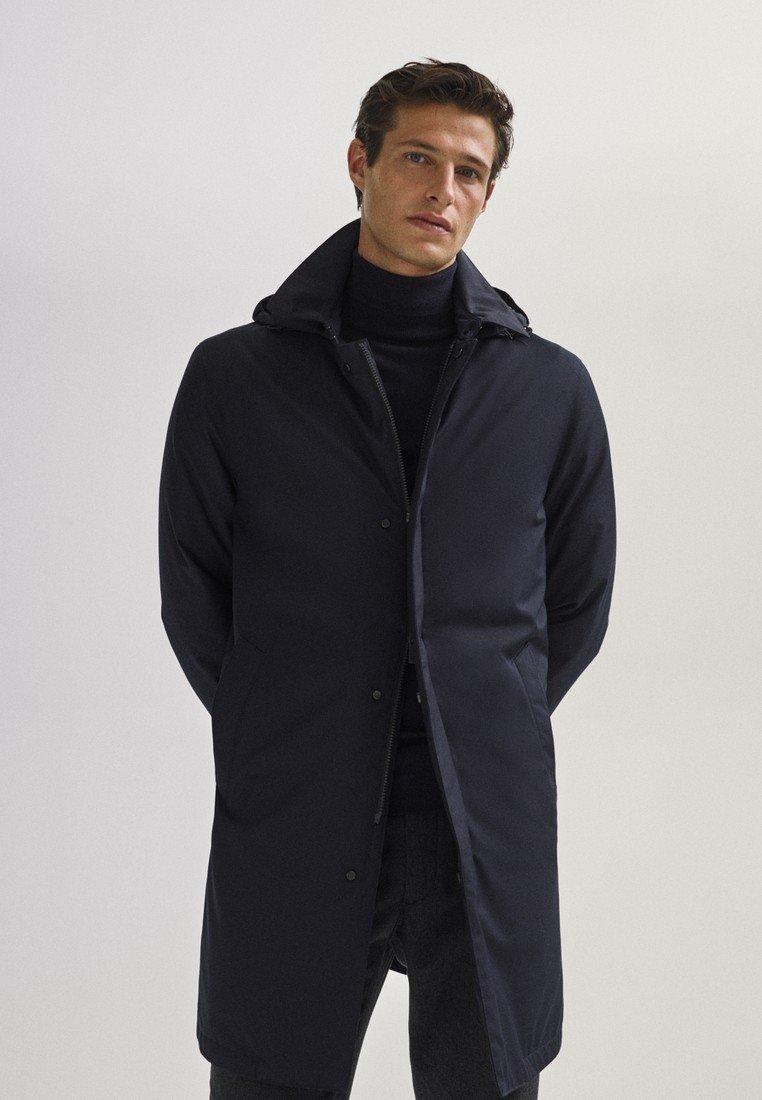 Massimo Dutti - 03421243 - Down jacket - dark blue
