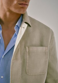 Massimo Dutti - blazer - beige - 6
