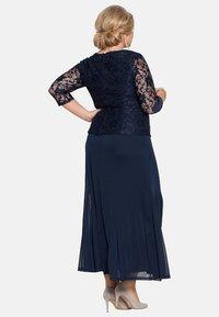 Sheego - Maxi dress - marine - 2