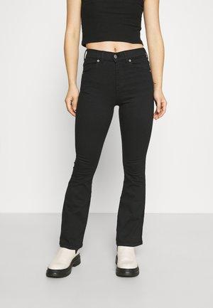 LEXY - Jeans bootcut - black
